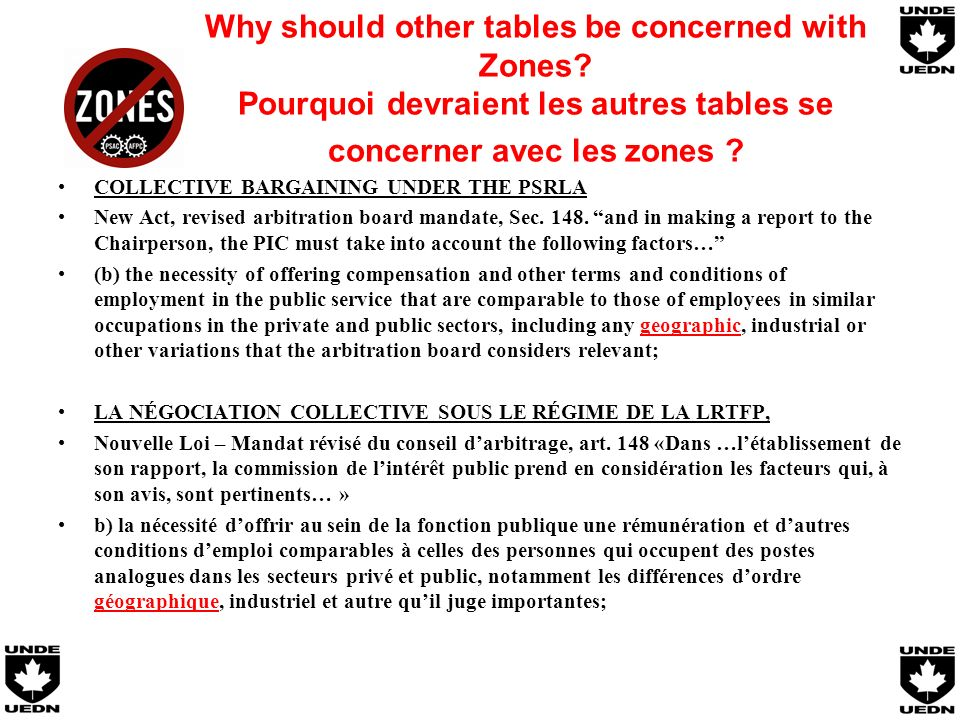 Why should other tables be concerned with Zones.
