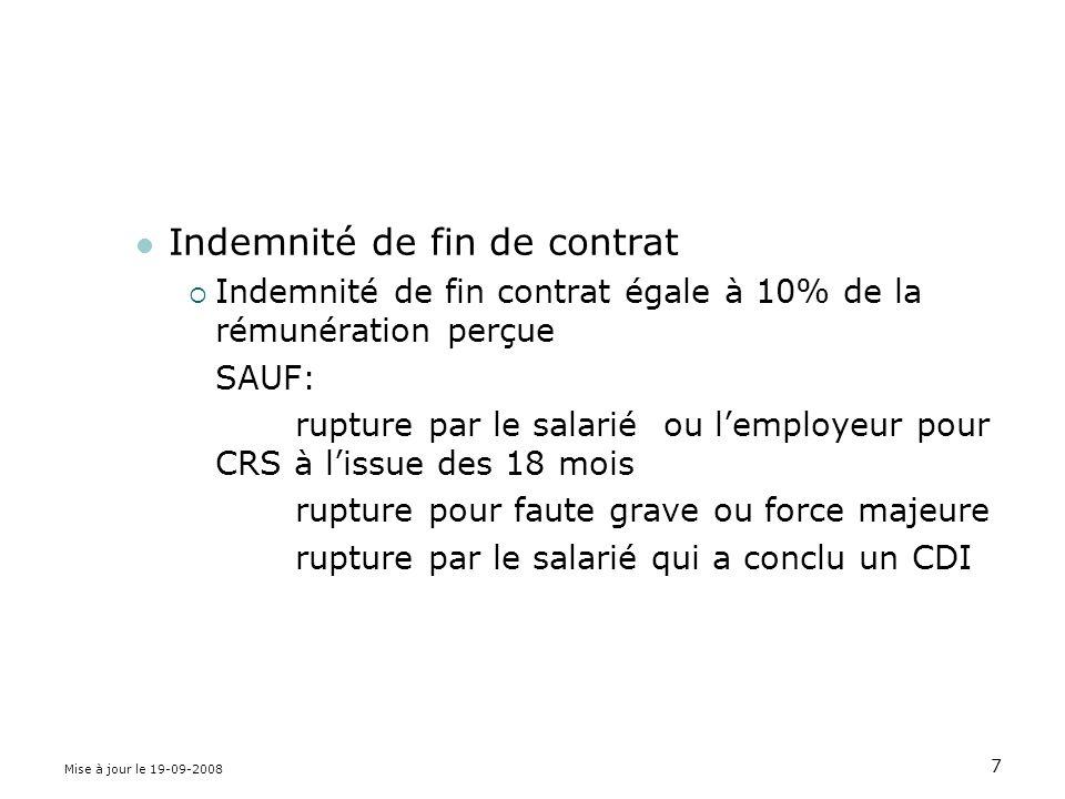 28 II– les garanties accordées au salarié