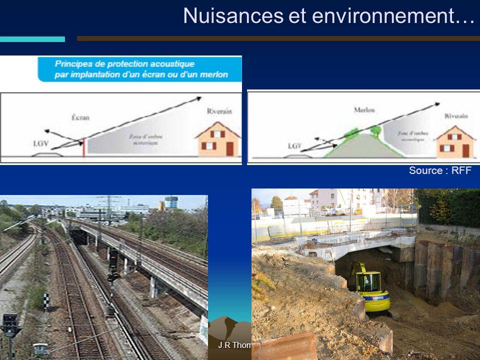 J.R Thomas35 Nuisances et environnement… Source : RFF