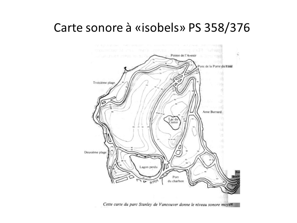 Carte sonore à «isobels» PS 358/376.