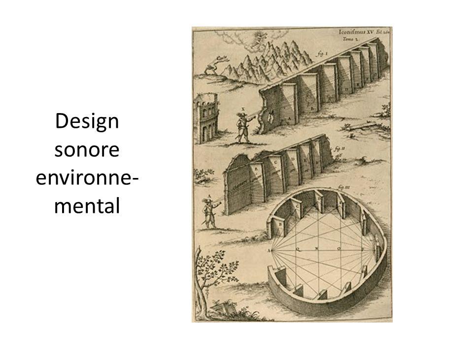 Design sonore environne- mental