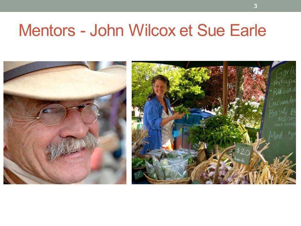 Mentors - John Wilcox et Sue Earle 3