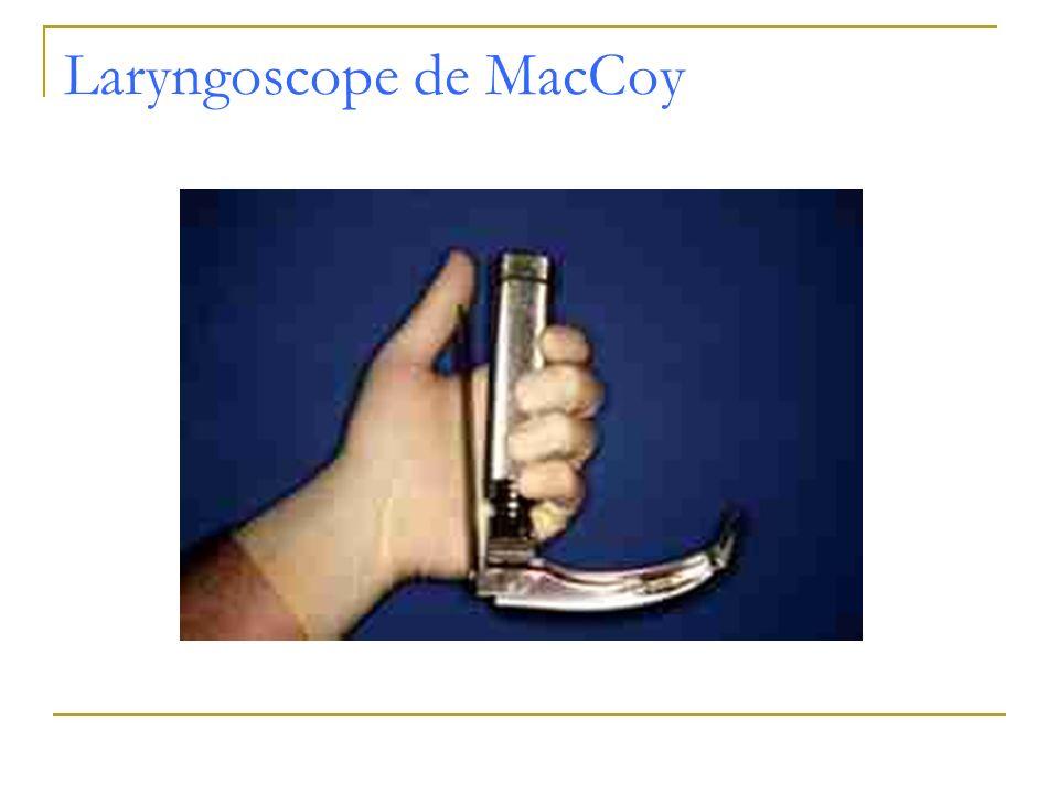 Laryngoscope de MacCoy