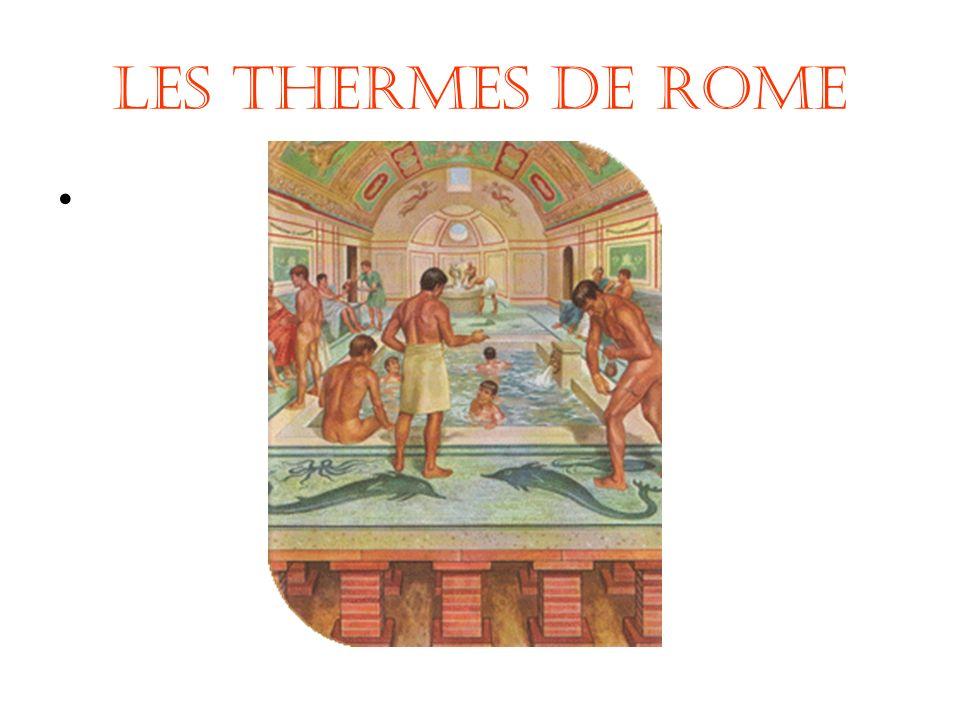 Les Thermes de Rome