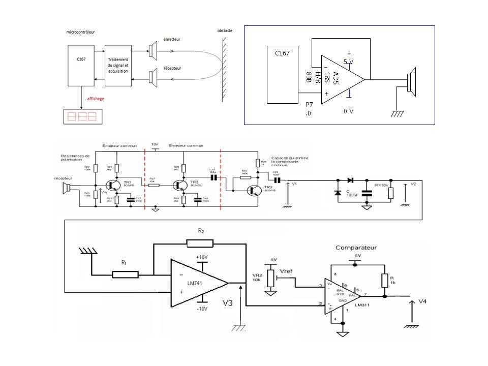 C167 AD5 18S H/8 83B + P7.0 + 5 V 0 V