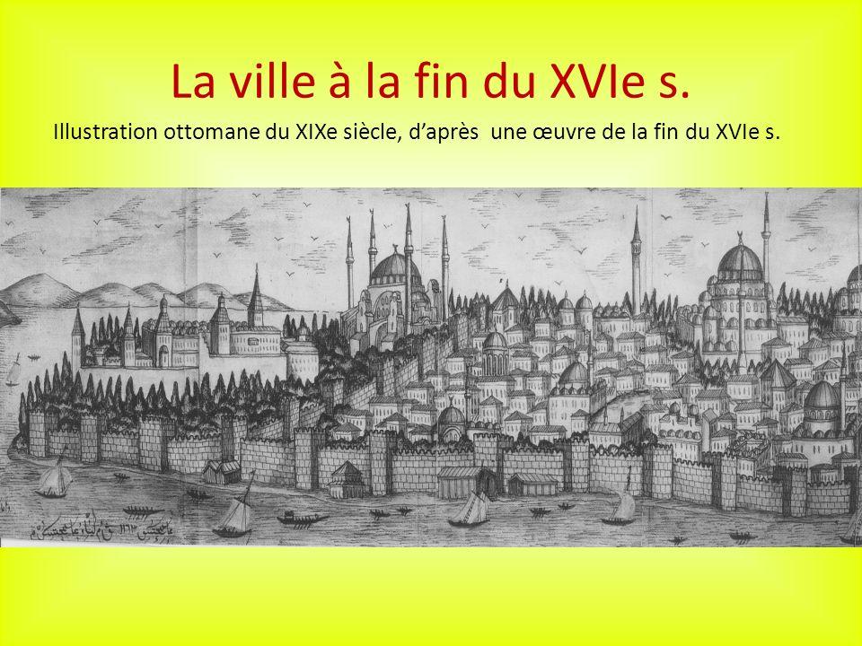 La ville à la fin du XVIe s.