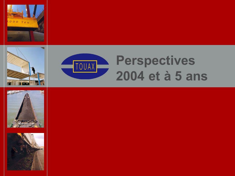 Perspectives 2004 et à 5 ans