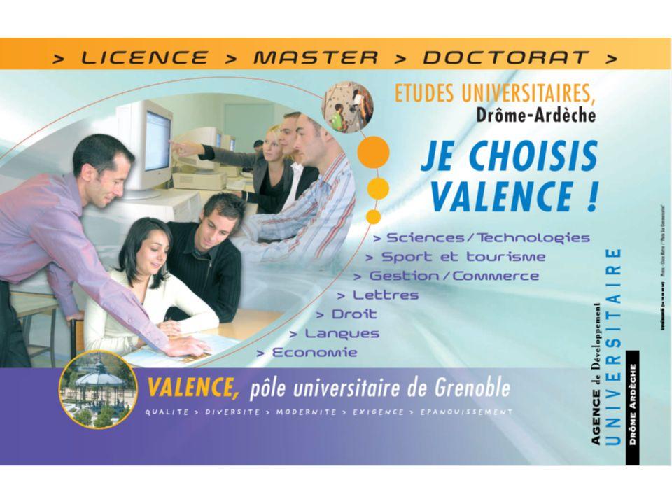 Pôle universitaire Drôme-Ardèche : 1.Lorganisation spécifique de lADUDA .