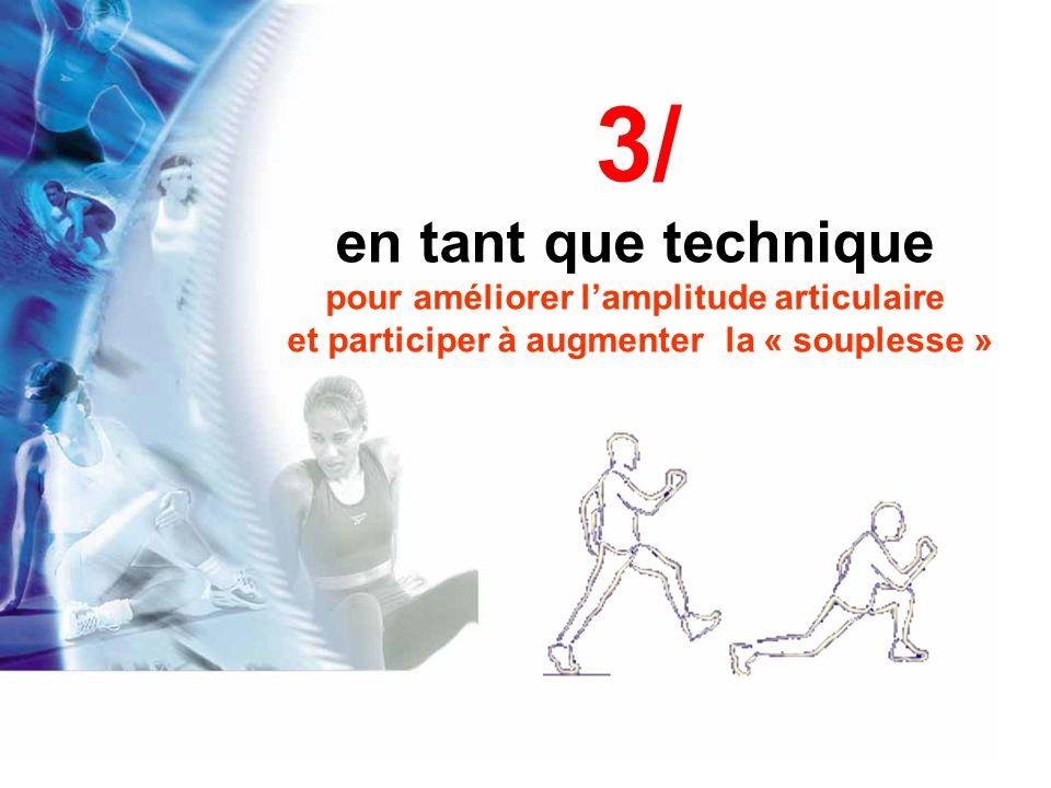 1) Stretching et E chauffement pour une p erformance sportive :