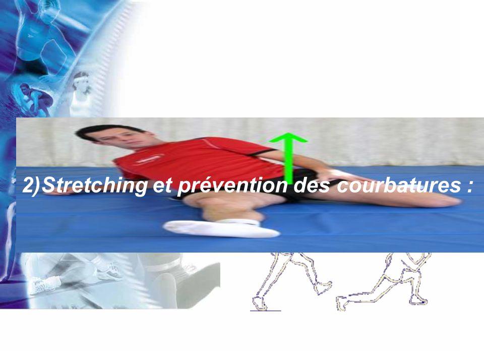 Il est bien connu que le travail excentrique provoque des courbatures importantes, cest pour cette raison que les expériences qui portent sur douleurs musculaires utilisent cette forme de travail.