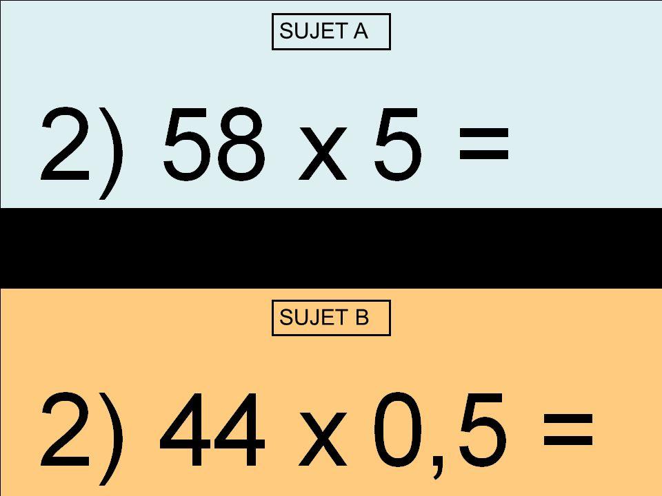 Correction SUJET ACorrection SUJET B