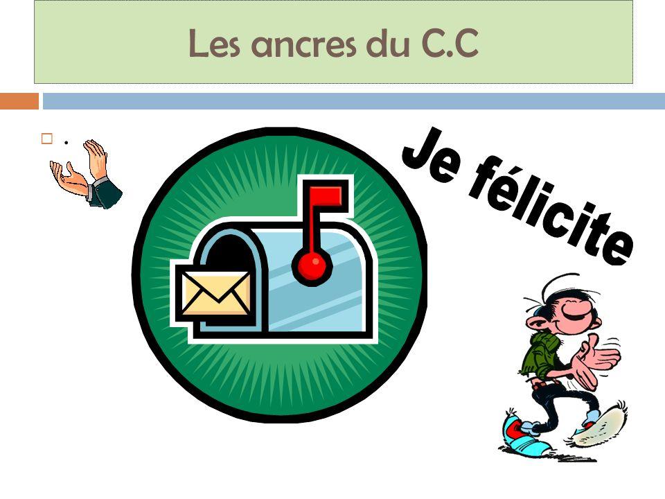 Les ancres du C.C.