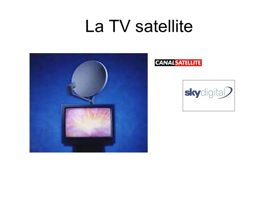 La TV satellite