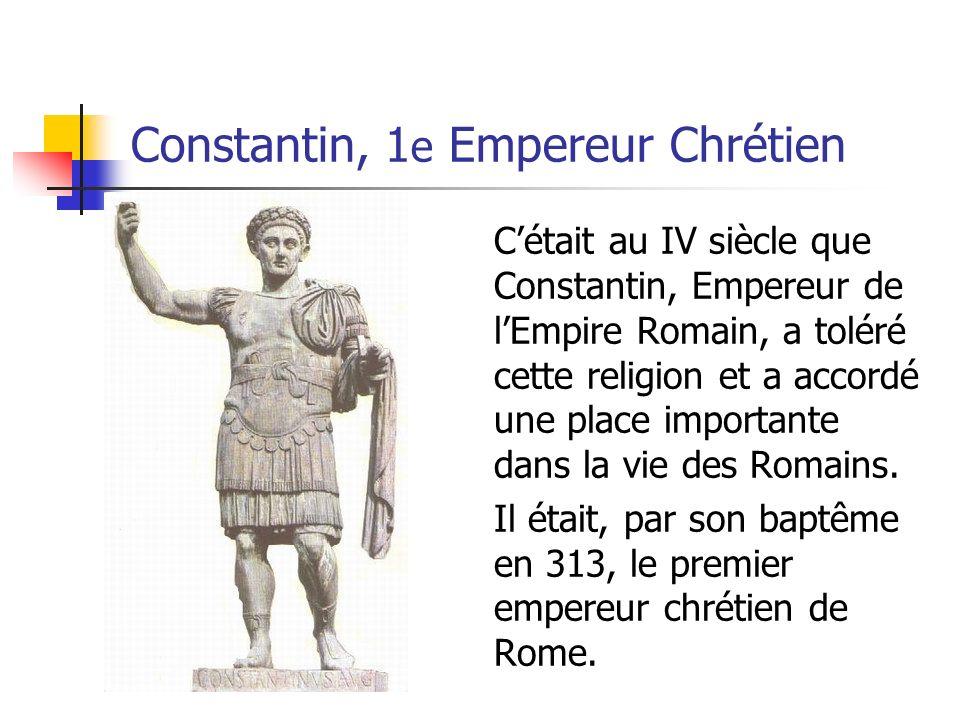 La Chute de lEmpire LEmpire sest divisé en deux en 395… LEmpire romain dOccident (à louest de la Grèce) LEmpire romain dOrient (incluant la Grèce, lÉgypte et le Proche- Orient)