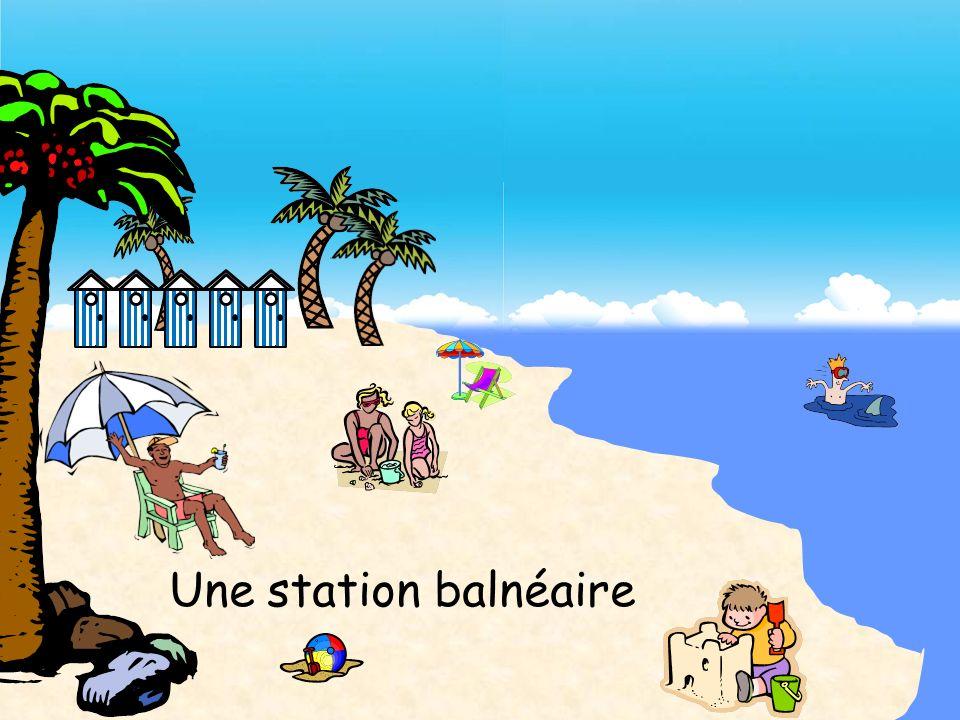 Une station balnéaire