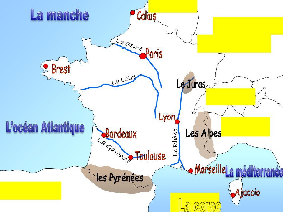 La Loire La Garonne Le Rhône La Seine
