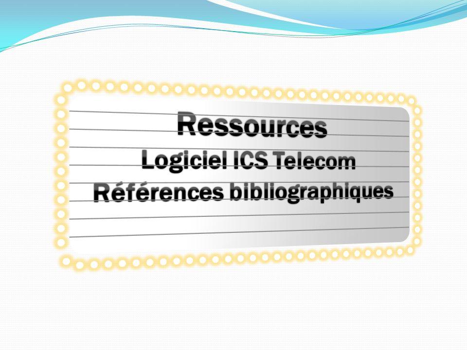 Pistes damélioration Amélioration du bilan: Implémentation de modèles et de choix de données différents Phase optimisation de la planification Prise en main plus aboutie du logiciel ICS Telecom