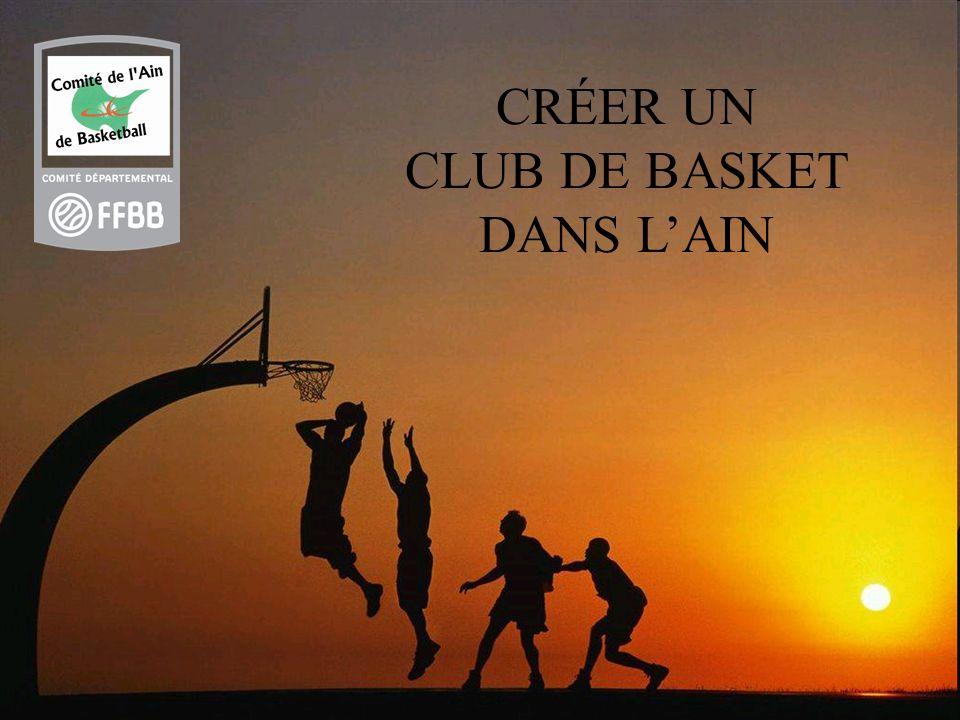 CRÉER UN CLUB DE BASKET DANS LAIN