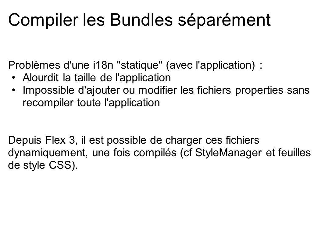 Compiler les Bundles séparément Problèmes d'une i18n