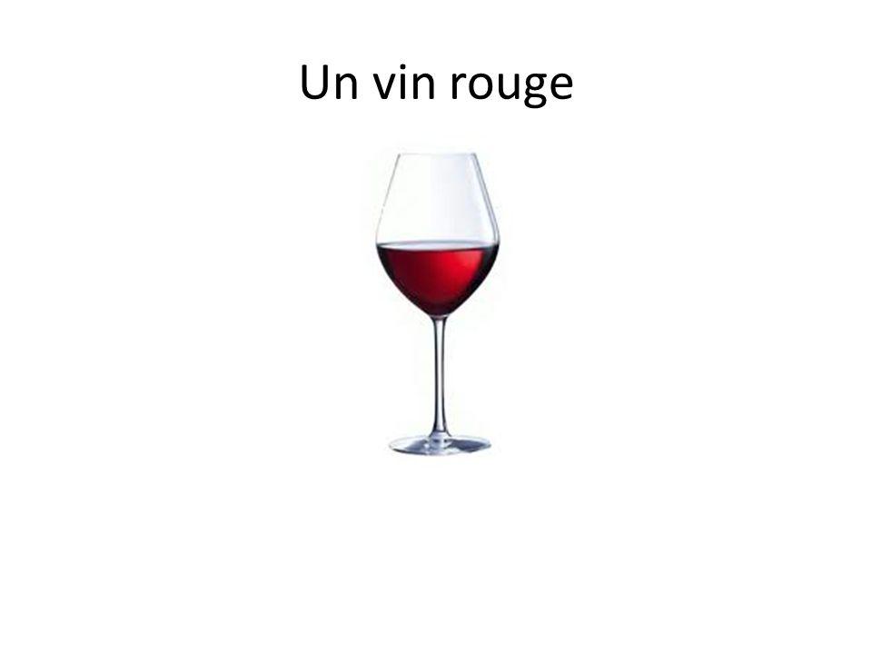 Un vin rouge