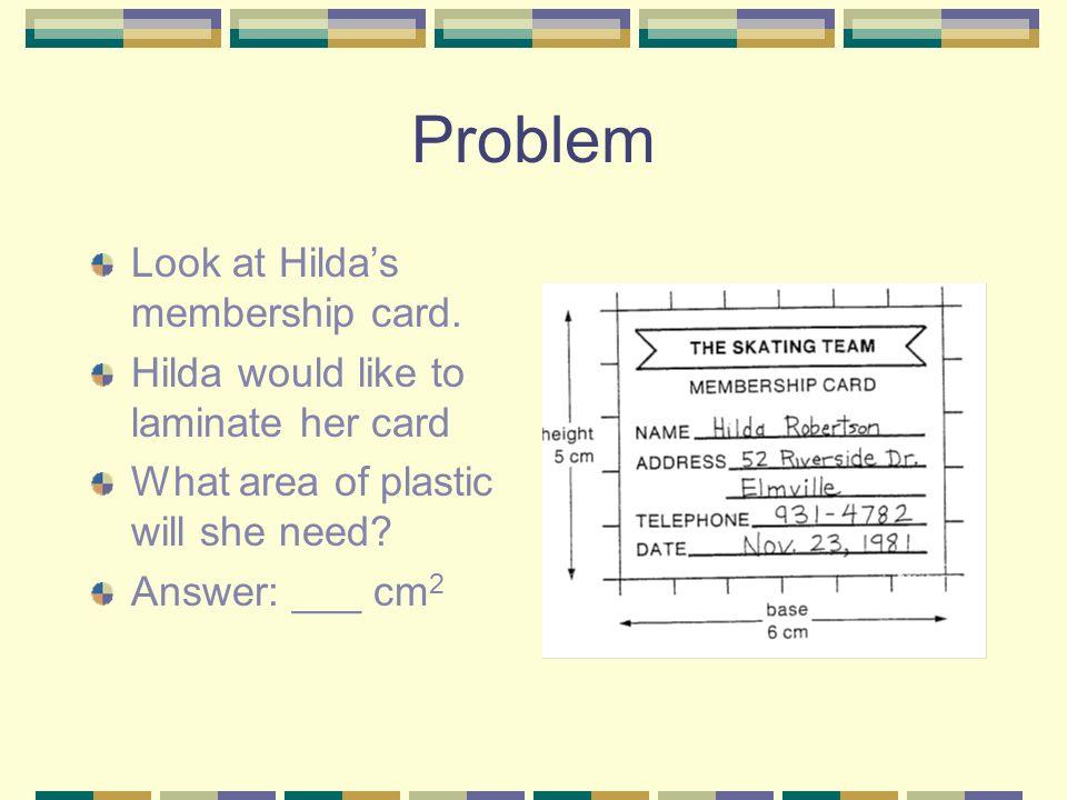 Exploration Pour calculer l aire du rectangle, on compte le nombre d unités d aire qu il contient.