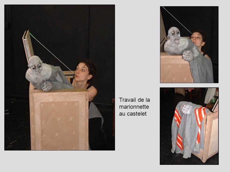 Travail de la marionnette au castelet