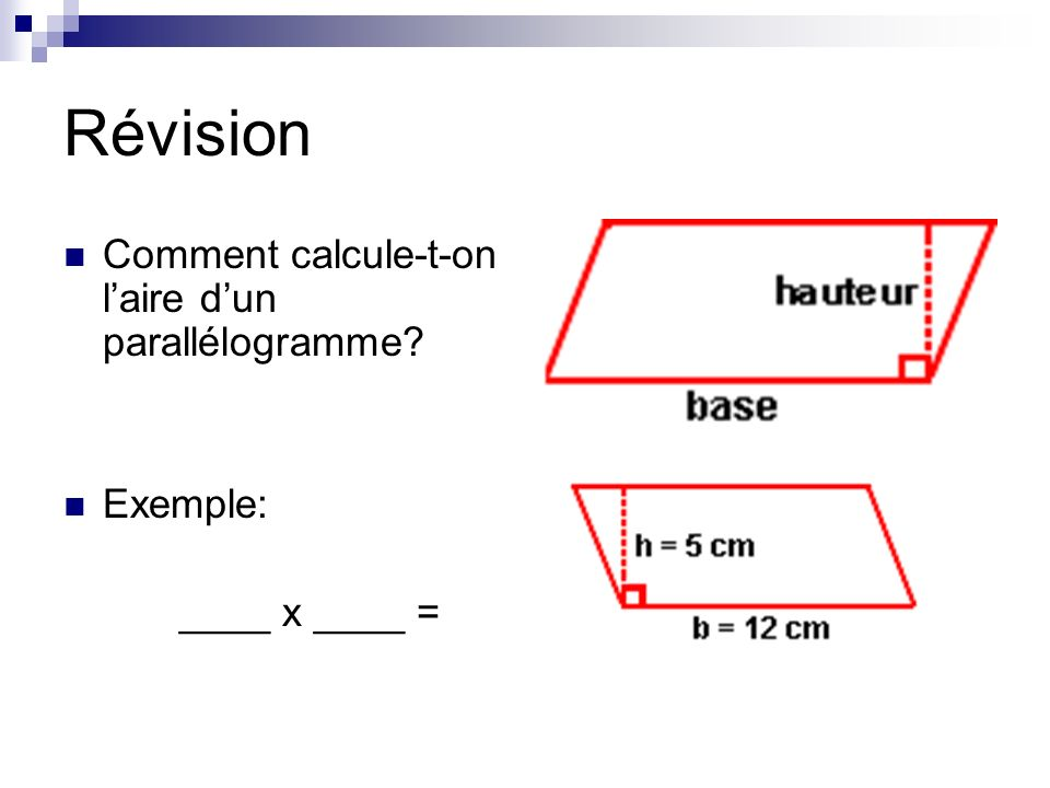 Sheet: Calculate the ara of triangles What is the height What is the base Find the area