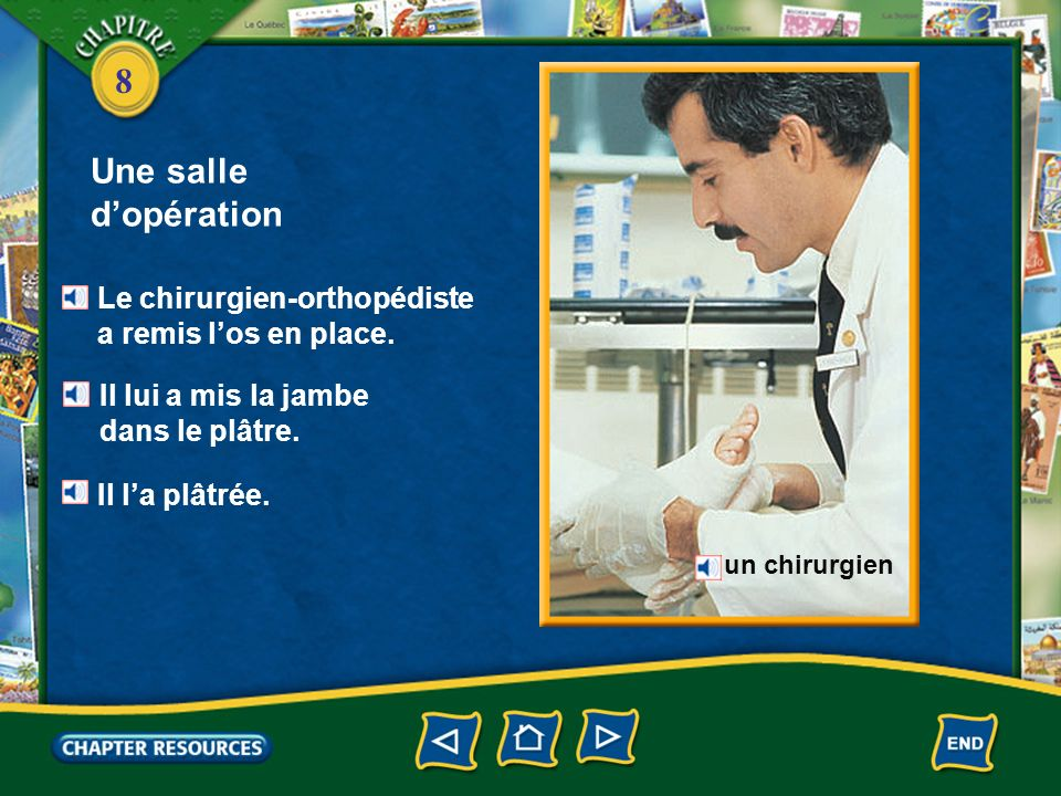 8 Une salle dopération Un anesthésiste fait des anesthésies. un anesthésiste