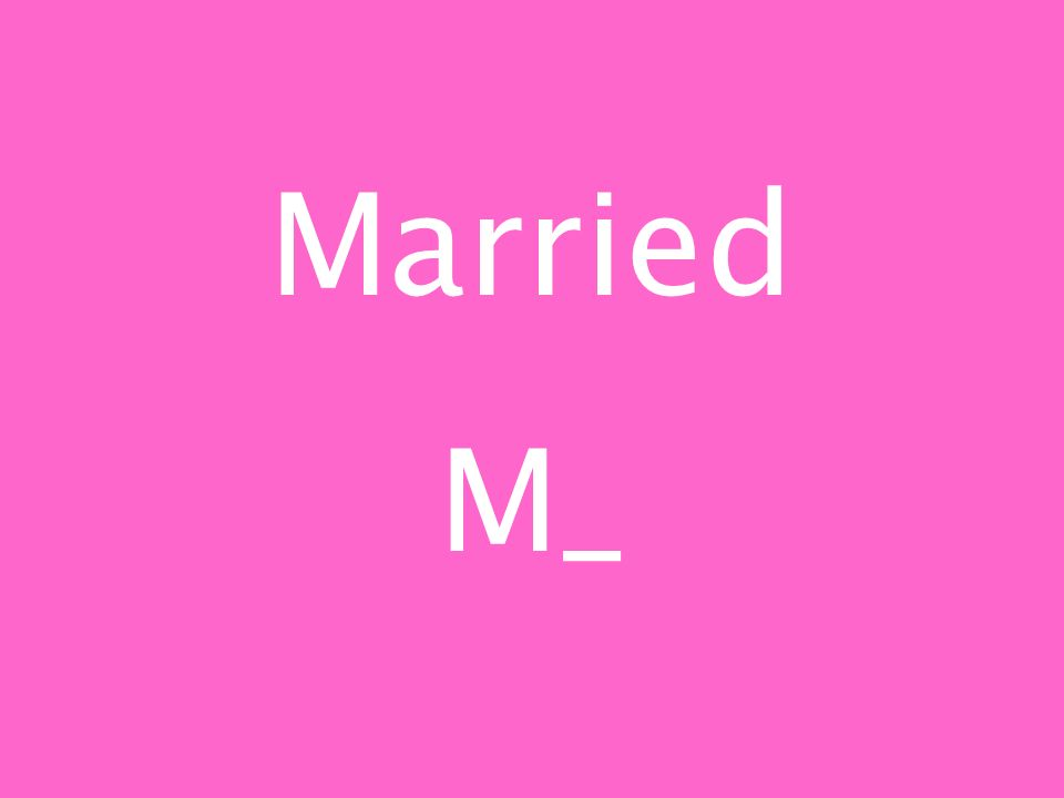 Married M_