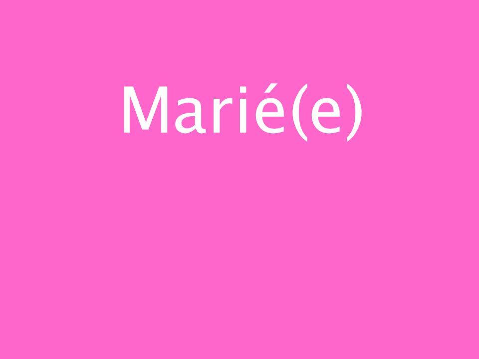 Marié(e)