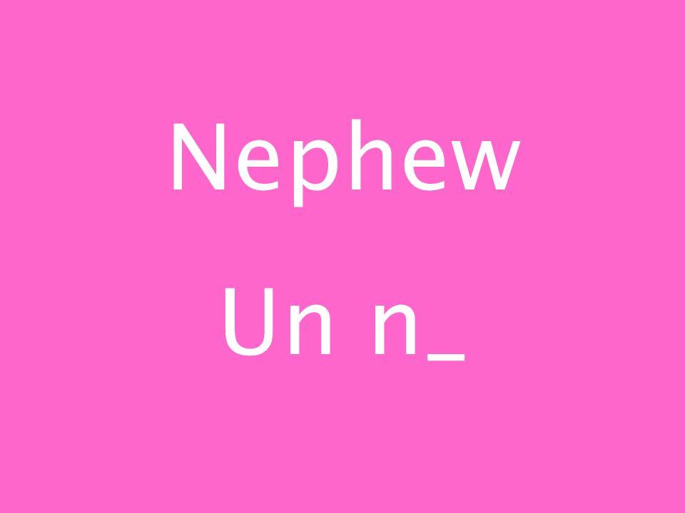 Nephew Un n_