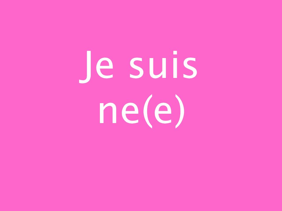 Be (vous) here! S_ i_