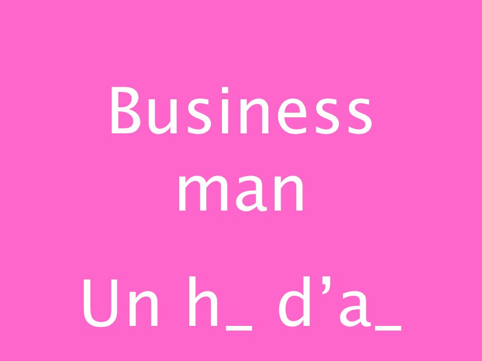 Business man Un h_ da_