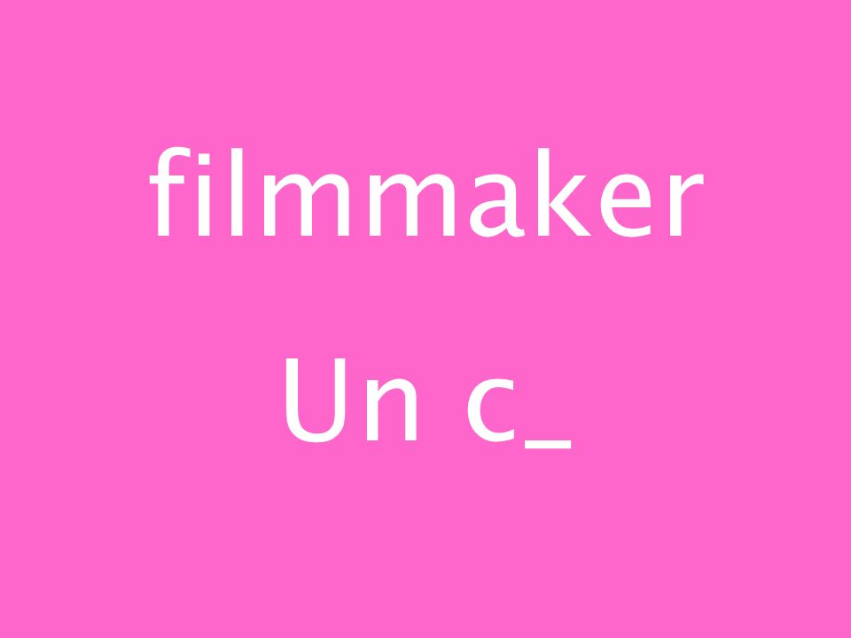 filmmaker Un c_