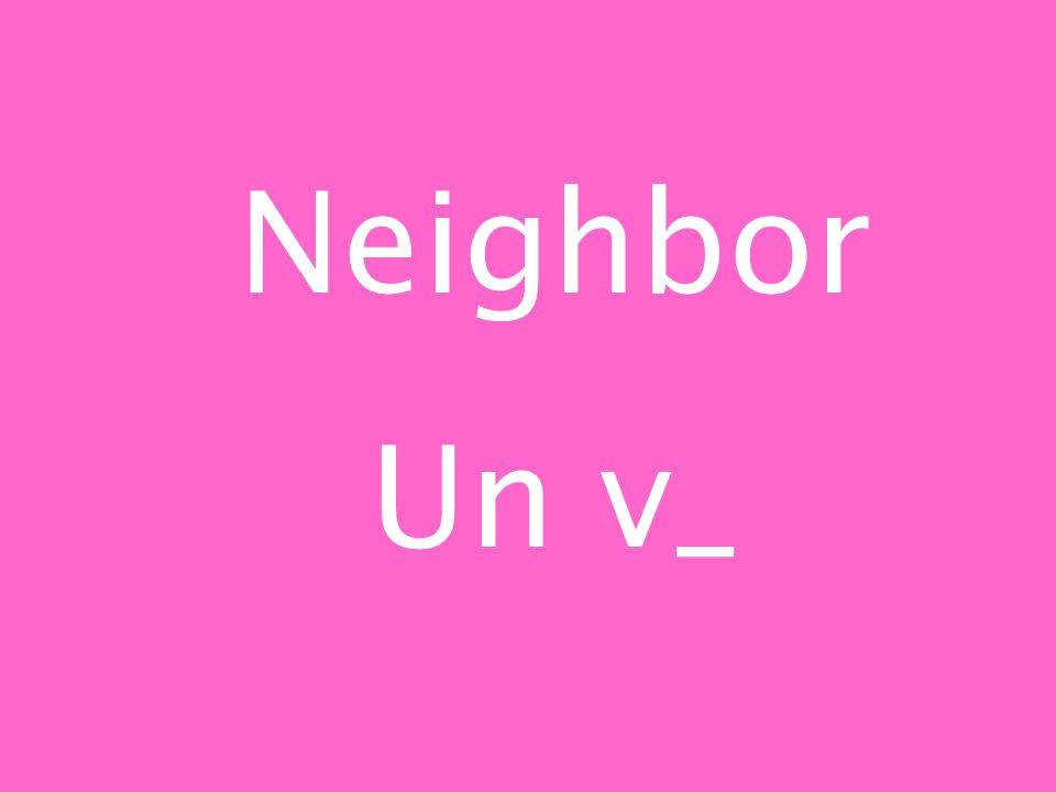 Neighbor Un v_