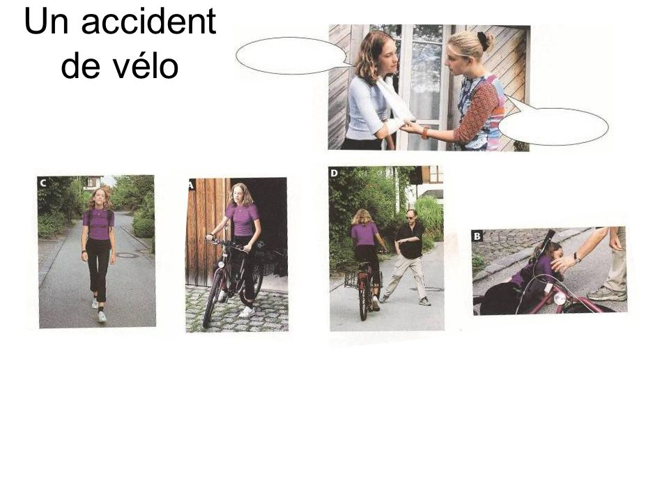Un accident de vélo