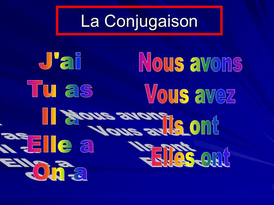 La Conjugaison
