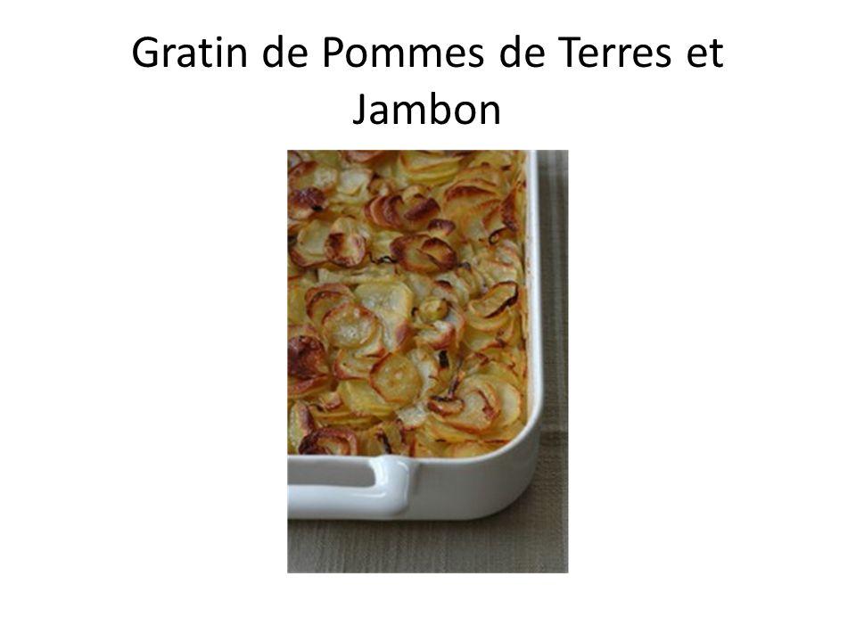 Gratin de Pommes de Terres et Jambon