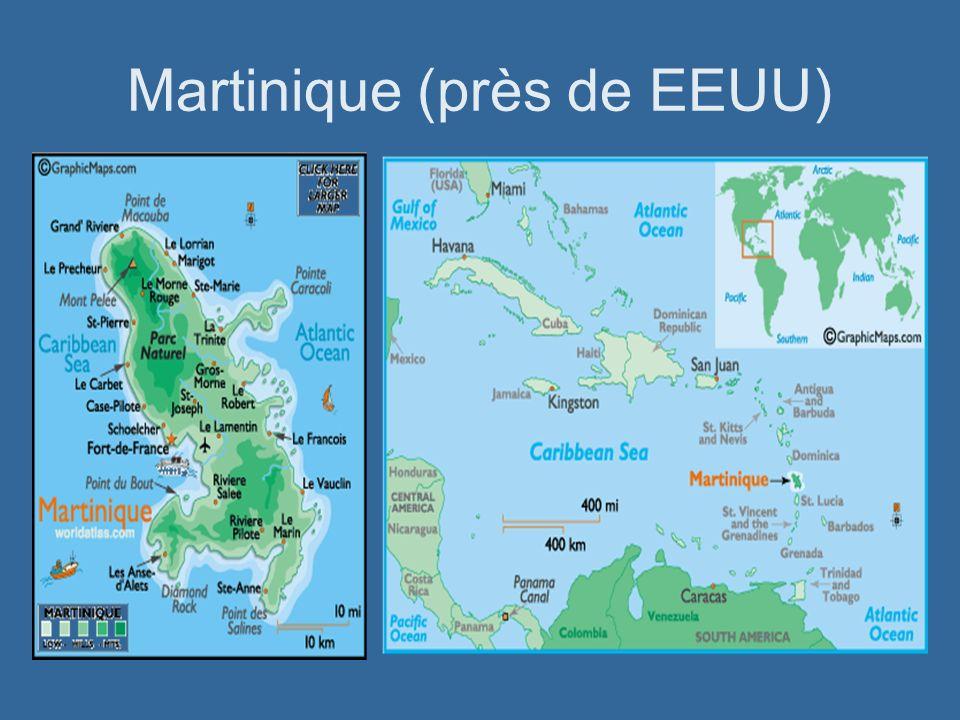 Martinique (près de EEUU)