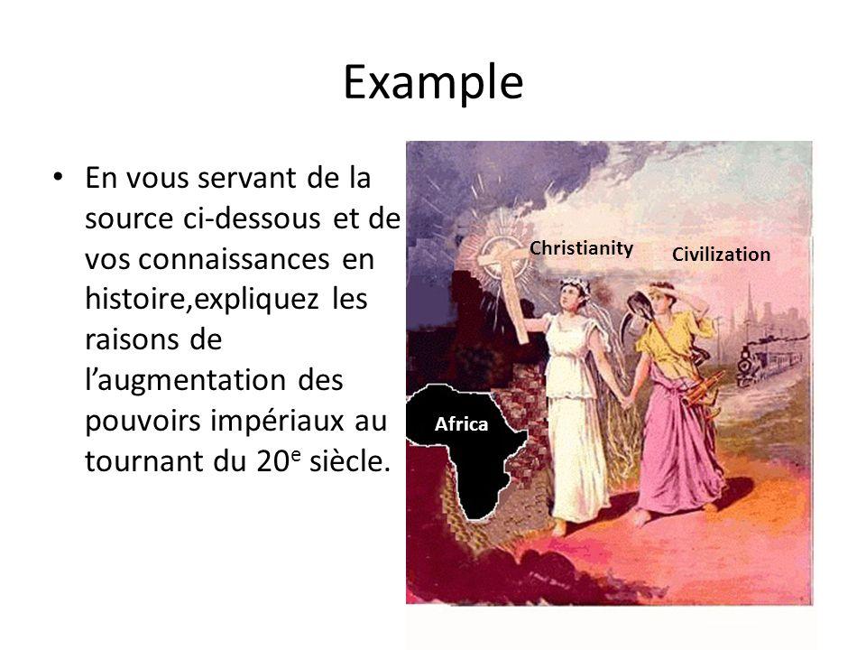 Example En vous servant de la source ci-dessous et de vos connaissances en histoire,expliquez les raisons de laugmentation des pouvoirs impériaux au t