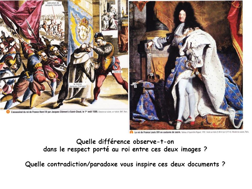 Raconte le massacre de la Saint Barthélémy en taidant du schéma.