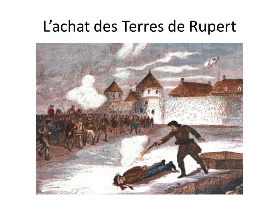 Lachat des Terres de Rupert