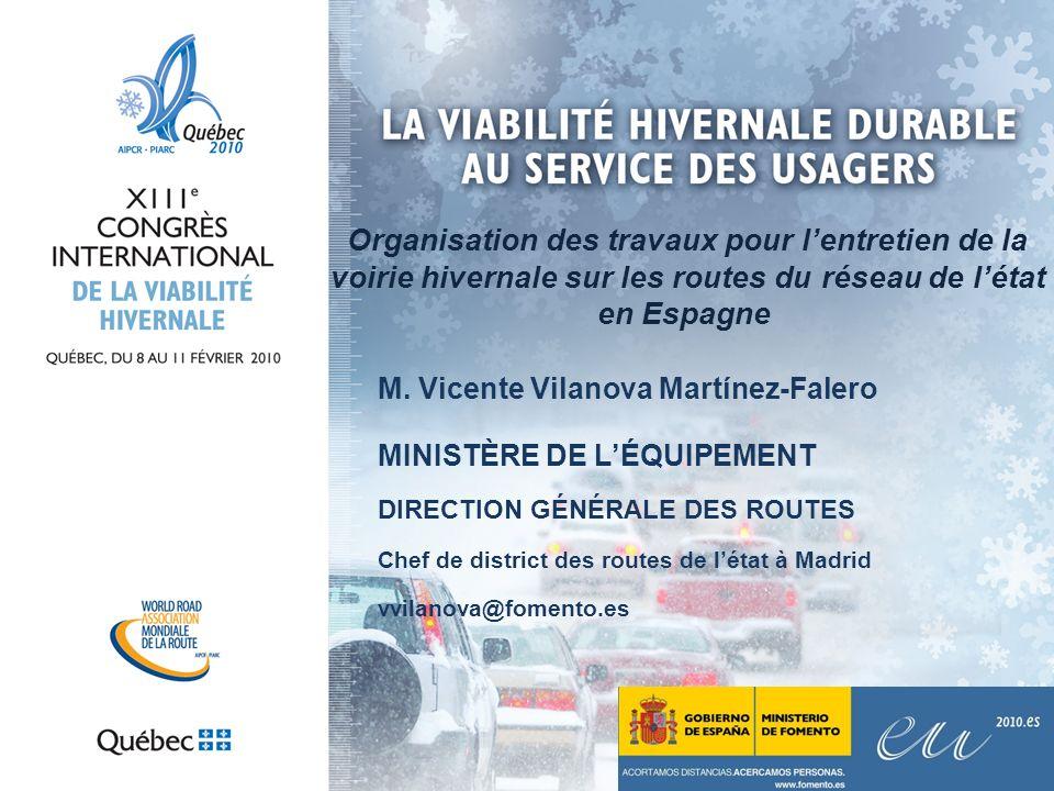 RÉSEAU DES ROUTES DE LÉTAT (RCE) Le RCE comprend les routes nationales qui forment des itinéraires long parcours et informent sur les différentes régions.