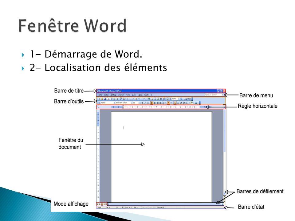 Espacement des caractères Menu Format/Police/Espacement des caractères Interligne Outils Menu Format/Paragraphe Menu contextuelle Important : vous pouvez aussi utiliser la mise en forme avec styles.