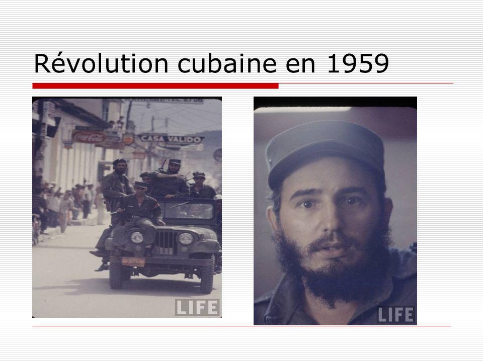 Révolution cubaine en 1959