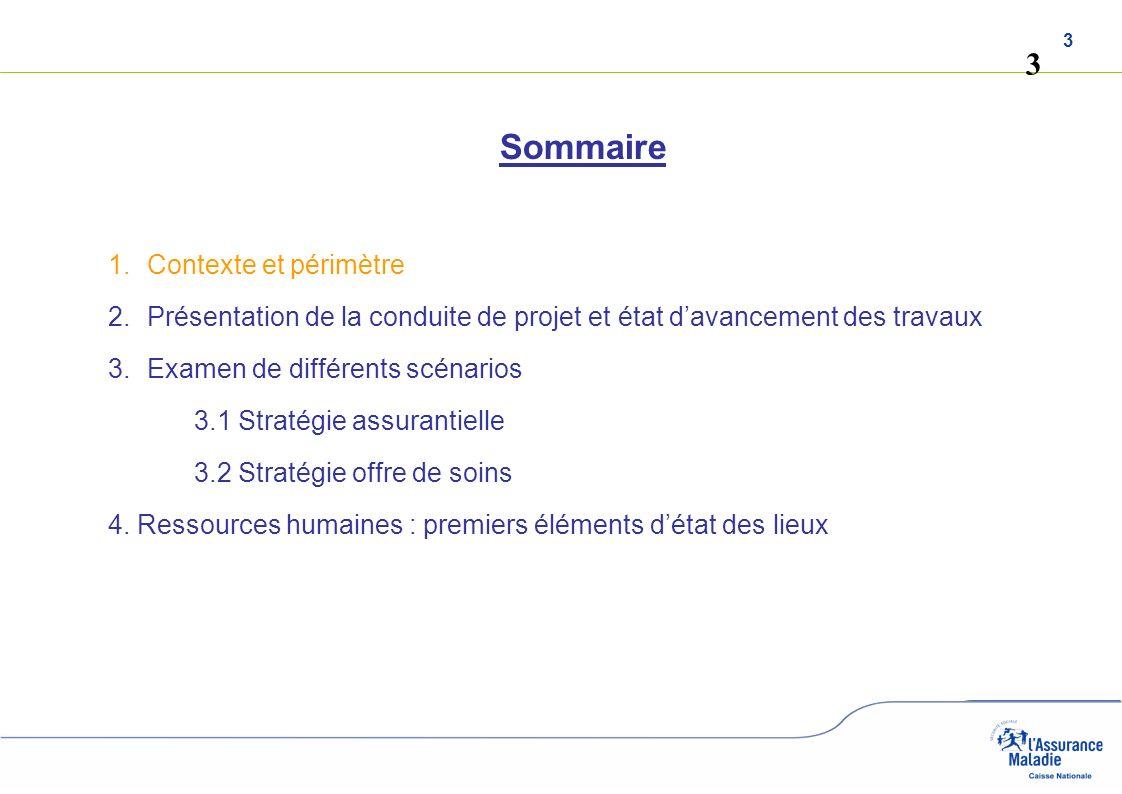 3 3 Sommaire 1.Contexte et périmètre 2.Présentation de la conduite de projet et état davancement des travaux 3.Examen de différents scénarios 3.1 Stra