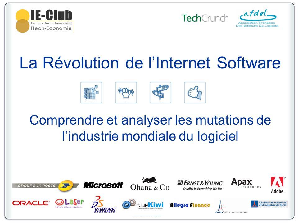 La Révolution de lInternet Software Comprendre et analyser les mutations de lindustrie mondiale du logiciel