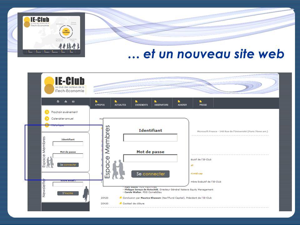 … et un nouveau site web