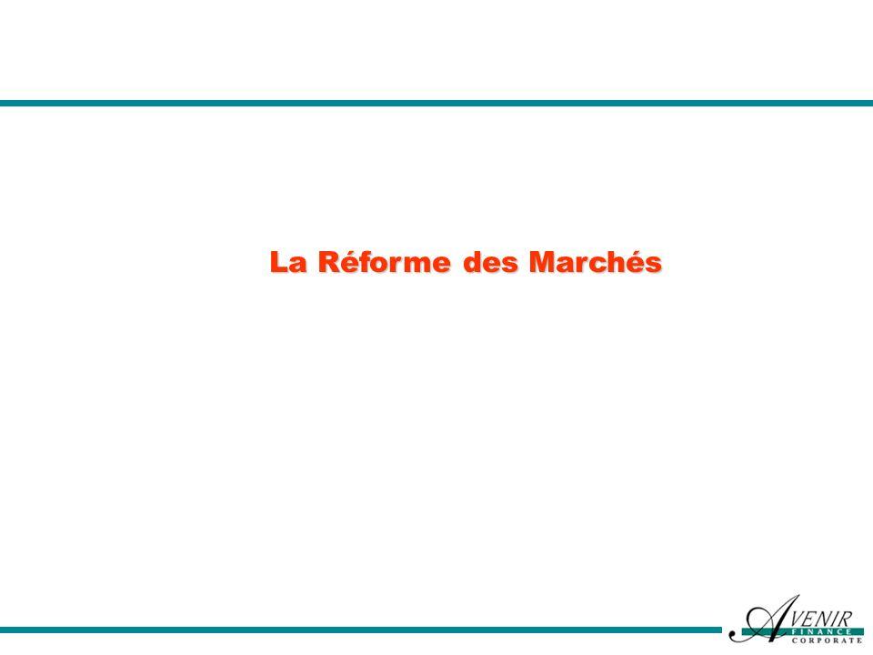 La Réforme des Marchés