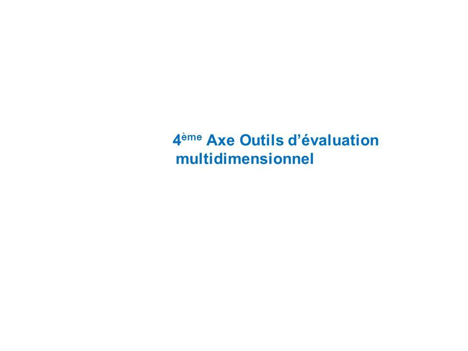 4 ème Axe Outils dévaluation multidimensionnel
